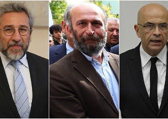 Can Dündar, Erdem Gül, Enis Berberoğlu