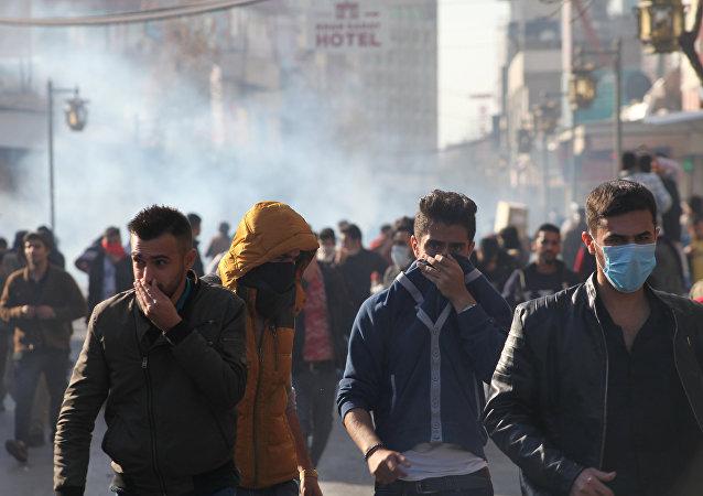 IKBY Süleymaniye protesto
