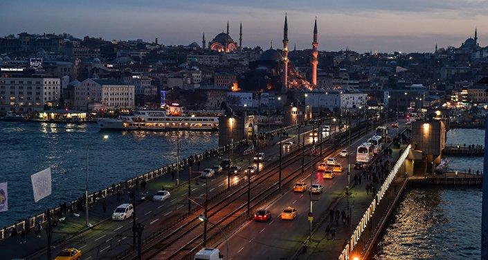 İstanbul Galata Köprüsü İTO