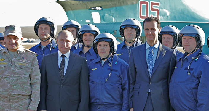 Putin Esad Suriye Hmeymim üssü