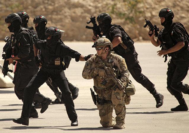 ABD Irak Ürdün ortak özel kuvvetler tatbikatı