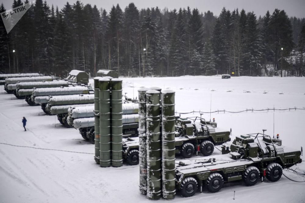 Rus ordusunun düzenlediği S-400lü tatbikattan görüntüler 89