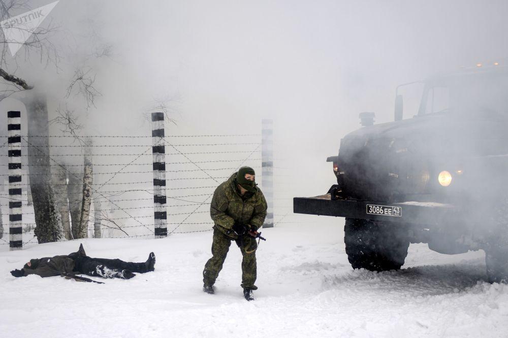 Rus ordusunun düzenlediği S-400lü tatbikattan görüntüler 18