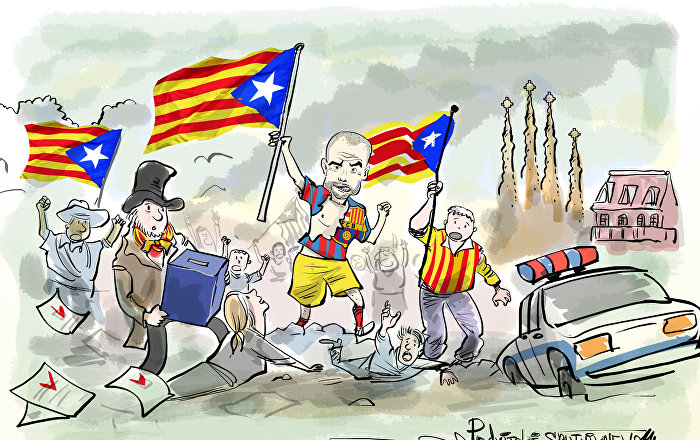 Katalonya kazandı İspanya kaybetti