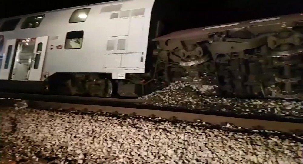 Avusturya'da tren kazası