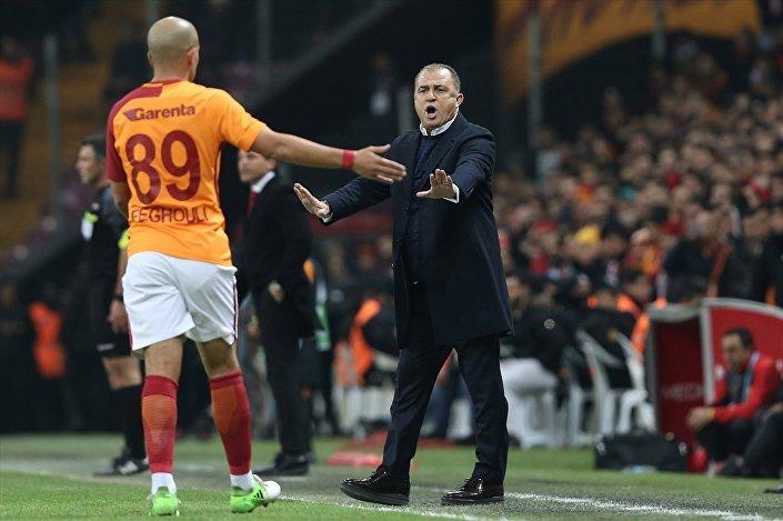 Galatasaray, Süper Lig maçında Göztepe ile Türk Telekom Stadı'nda karşılaştı. Galatasaray'da yeniden göreve getirilen teknik direktör Fatih Terim, ilk maçına çıktı.
