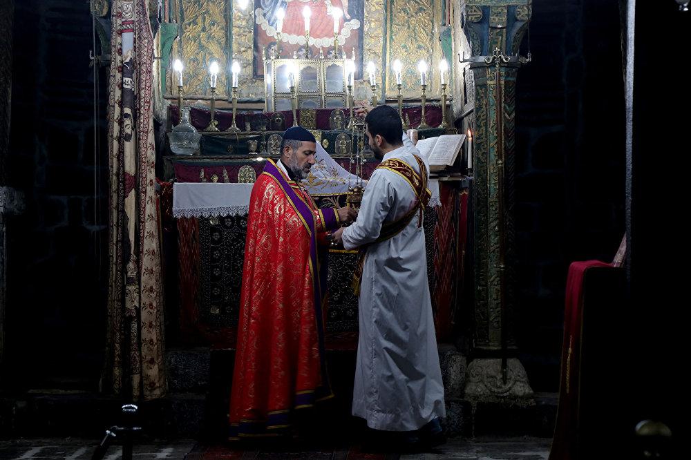 Diyarbakır'da Noel kutlaması