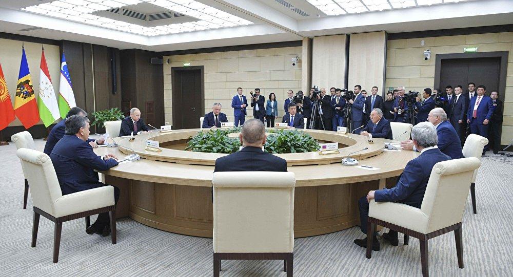 Rusya Devlet Başkanı Vladimir Putin BDT liderleriyle güvenlik konularını görüştü