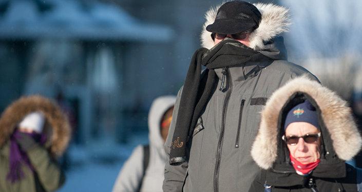Kanada'da dondurucu soğuklar