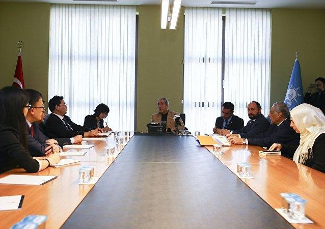 Çin Komünist Partisi'nden AK Parti'ye ziyaret
