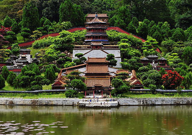 Miniature Summer Palace in Splendid China Folk Park