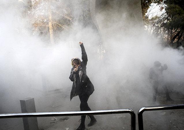 Tahran Üniversitesi-eylem