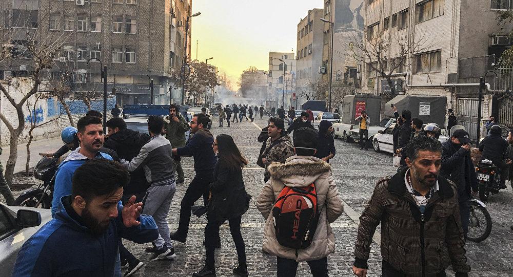 İran-protestolar (Tahran)