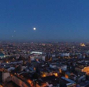 'Süper Ay' İstanbul