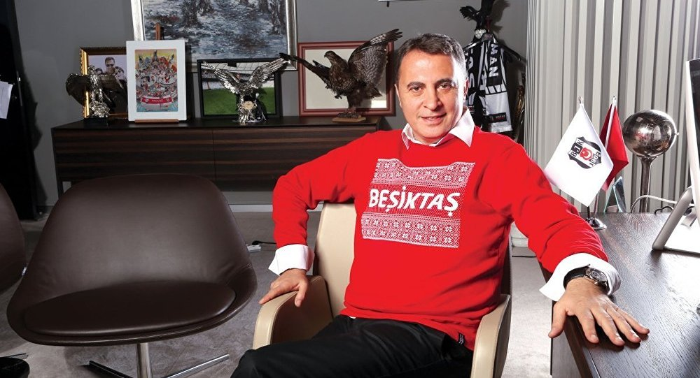 Beşiktaş Kulübü Başkanı Fikret Orman