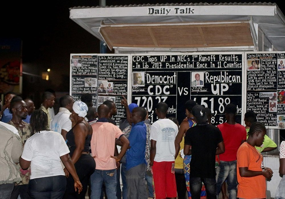 Liberyalılar haberi 17 yıldır 'kara tahtadan' öğreniyor