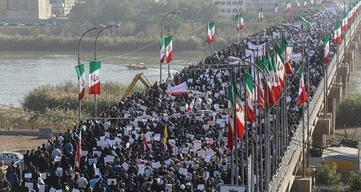 İran'da hükümete destek protestoları