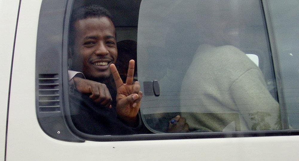 Etiyopya'da 2007'de serbest kalan siyasi tutuklulardan biri