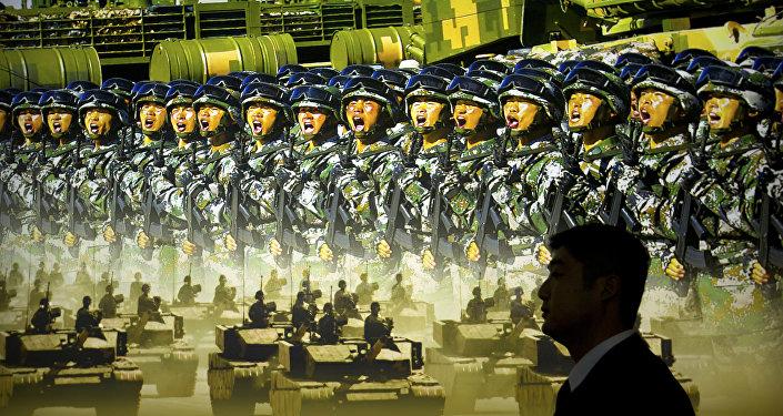 Pekin Çin ordusu sergisi