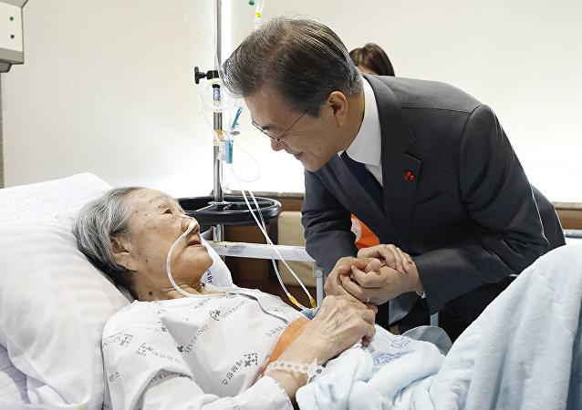 Güney Kore Devlet Başkanı Moon Jae-in- Seks köleleri
