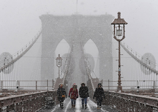 New York'ta kar fırtınası