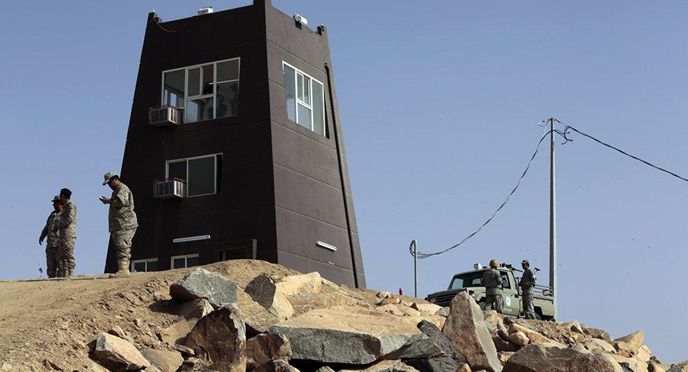 Yemen-Suudi Arabistan sınırındaki Suudi askerler