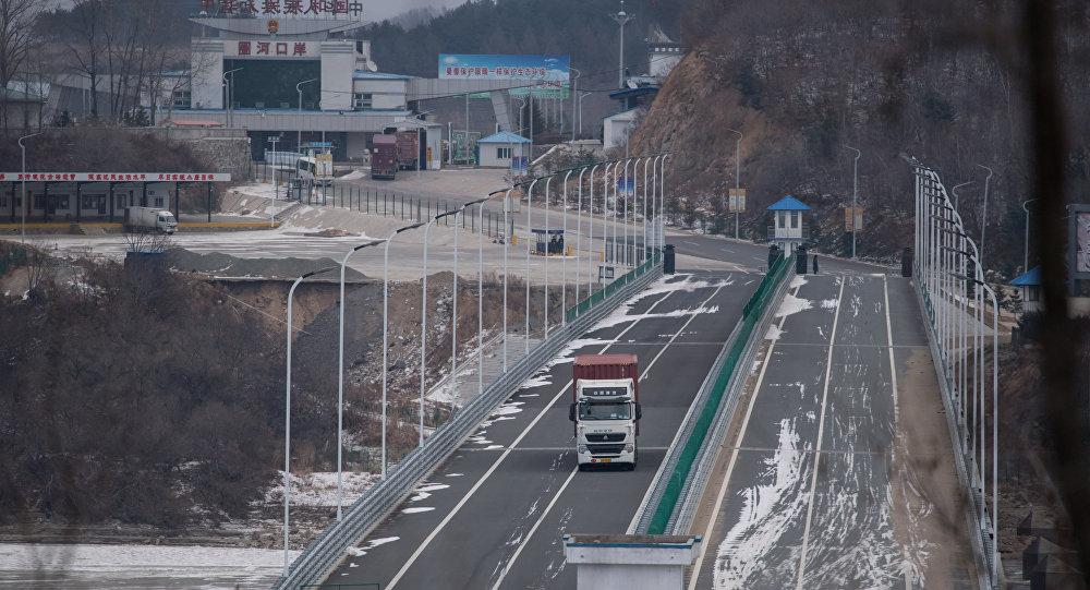 Çin-Kuzey Kore sınırı