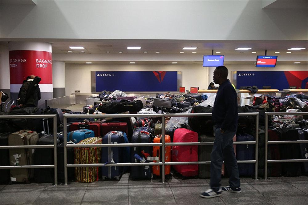 New York JFK Havalimanı'nı su bastı