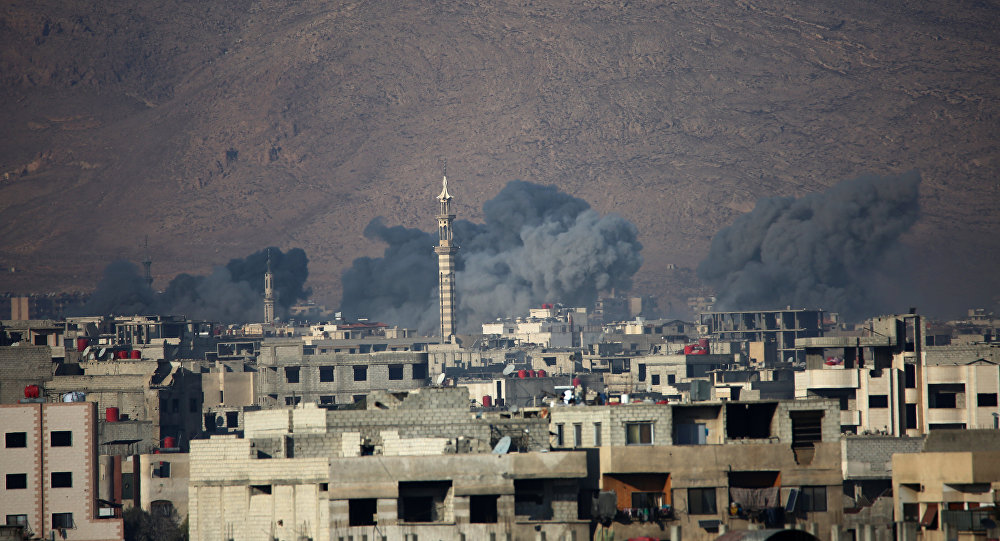 Harasta kasabası-Suriye
