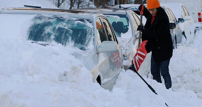 ABD'de kar fırtınası ve soğuk hava hayatı olumsuz etkiliyor