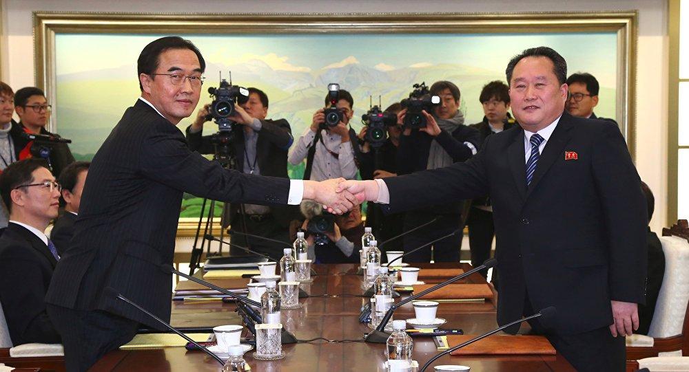 Kuzey Kore- Güney Kore