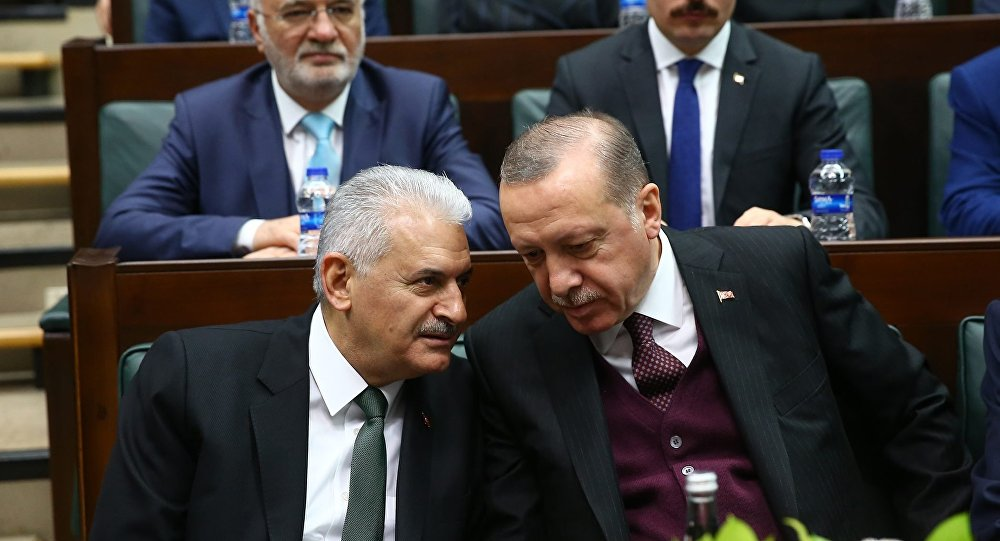 Başbakan Binali Yıldırım- Cumhurbaşkanı Recep Tayyip Erdoğan