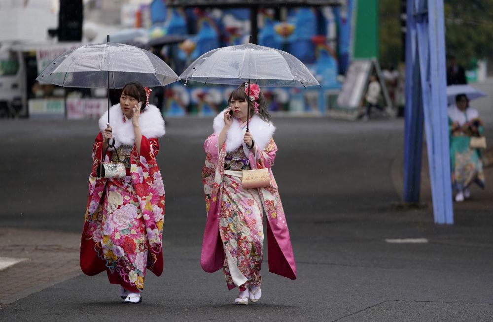 Japonya'da Yetişkinler Günü kutlamaları