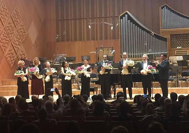 Karlov Ankara'da konserle anıldı