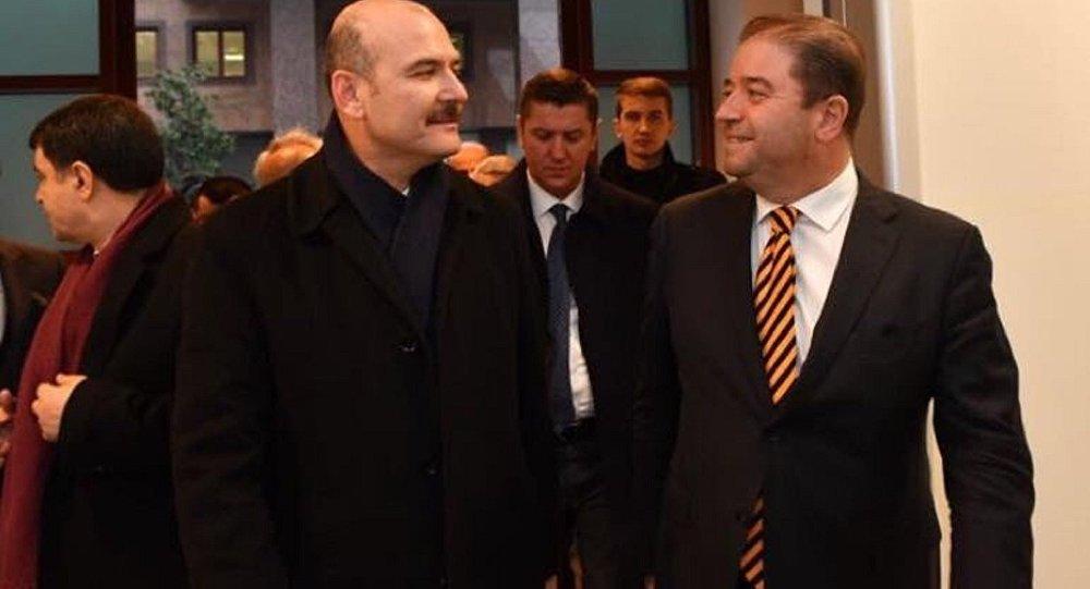 CHP'li Maltepe Belediye Başkanı Ali Kılıç ve İçişleri Bakanı Süleyman Soylu