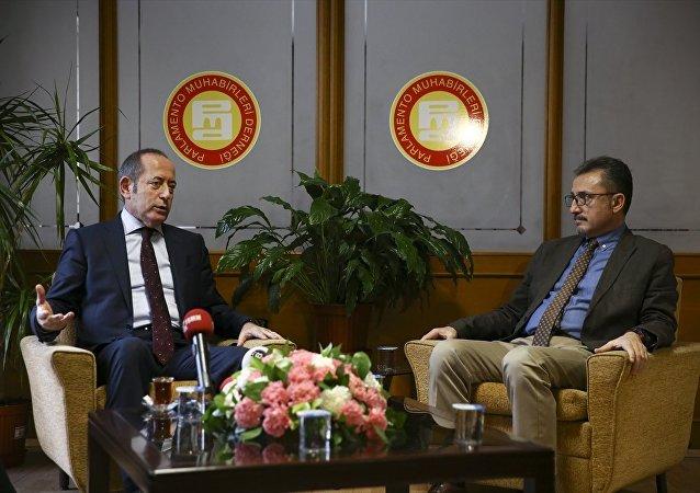 CHP İstanbul Milletvekili Akif Hamzaçebi