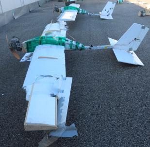 Rusya, teröristlerin Suriye'deki üslerine saldırısında kullandığı İHA'ların yeni fotoğraflarını yayınladı