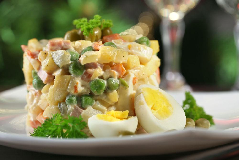 Olivye salatası