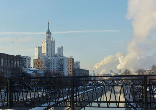Moskova görünümünün 100 yıllık değişimi
