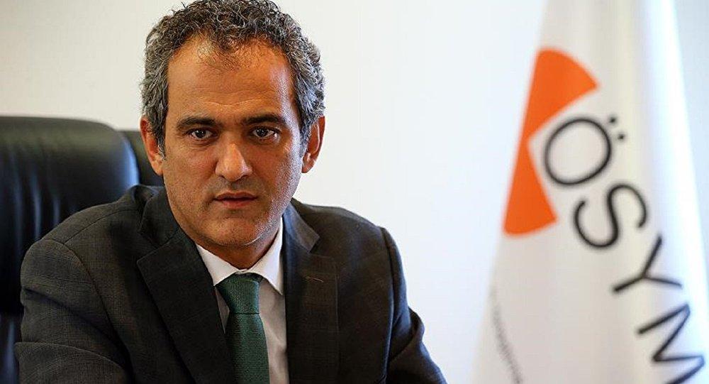 Ölçme Seçme ve Yerleştirme Merkezi (ÖSYM) Başkanı Prof. Dr. Mahmut Özer