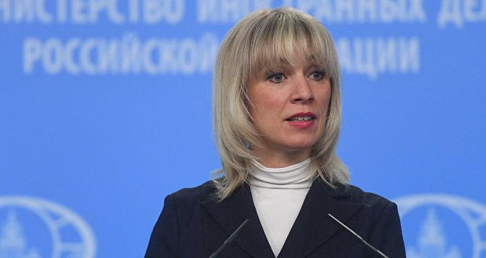 Rusya Dışişleri Bakanlı Sözcüsü Mariya Zaharova