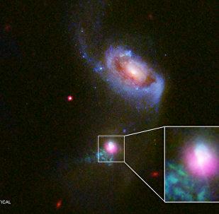 800 milyon ışık yılı uzaktaki süper kütleli kara delikte çifte 'kozmik geğirme'