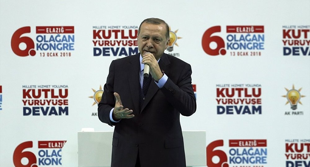 Cumhurbaşkanı ve AK Parti Genel Başkanı Recep Tayyip Erdoğan, AK Parti Elazığ 6. Olağan İl Kongresi'ne katılarak konuşma yaptı.