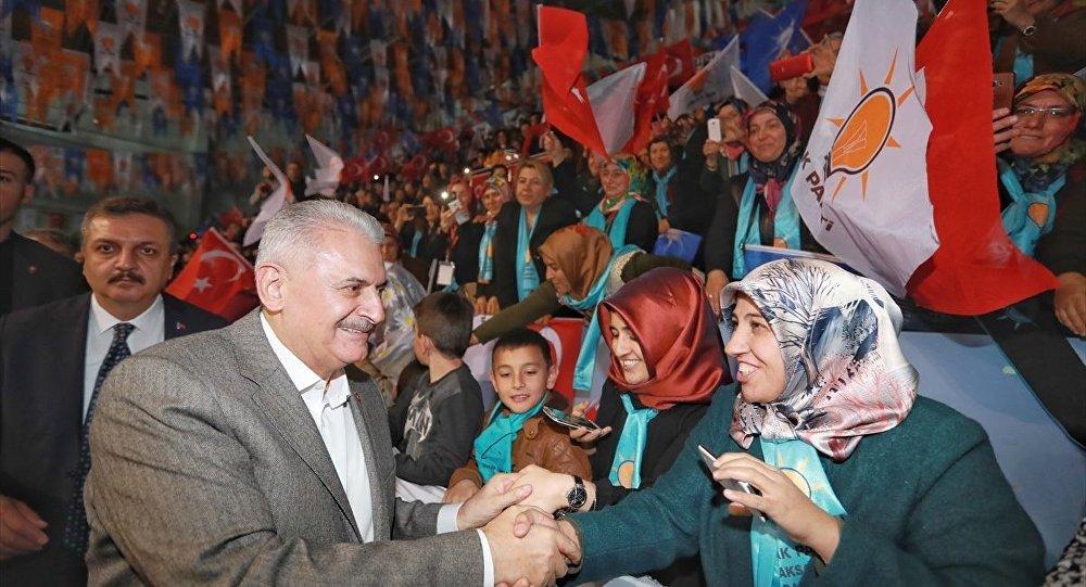 AK Parti Genel Başkanvekili ve Başbakan Binali Yıldırım partisinin Aksaray 6. Olağan İl Kongresi'nde konuştu.