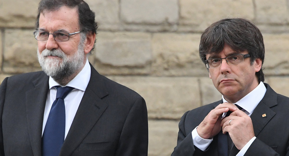 Mariano Rajoy Carles Puigdemont Barcelona