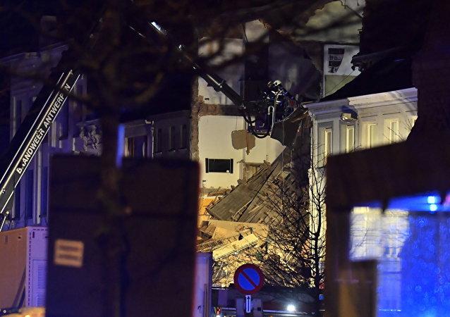 Belçika'da bir binada patlama meydana geldi