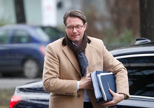 CSU Genel Sekreteri Andreas Scheuer