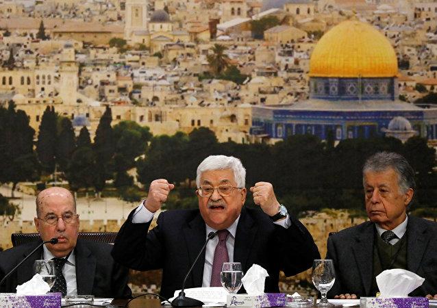 Mahmud Abbas Ramallah Filistin Merkez Konseyi