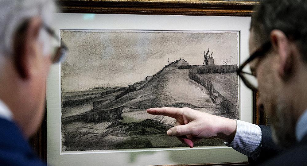 Vincent Van Gogh Taşocaklı Montmartre Tepesi Singer Müzesi Laren