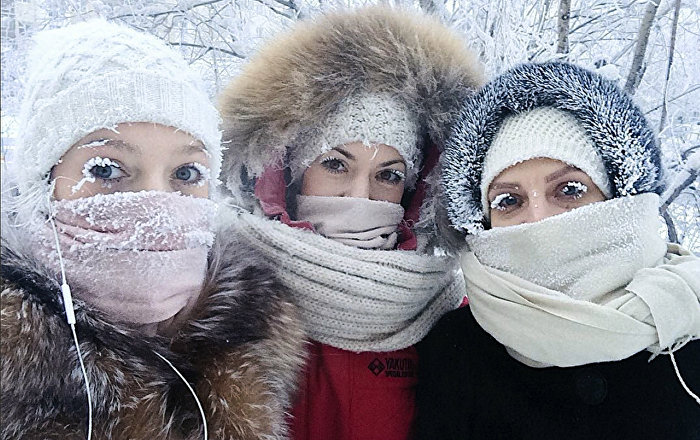 Yakutistan'da -62 derecede yaşam